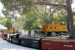 Find a Big Boy and Small Trains Around Toluca Lake