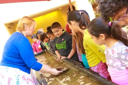 Kids can pan for gold at The Autry this summer. PHOTO COURTESY THE AUTRY