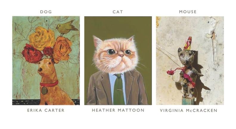 Dog, Cat, Mouse: Art Exhibit