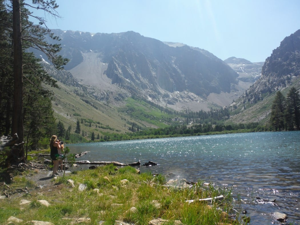 This secluded alpine lake is accessed by hiking the Parker Lake Trail. PHOTOS BY MIMI SLAWOFF