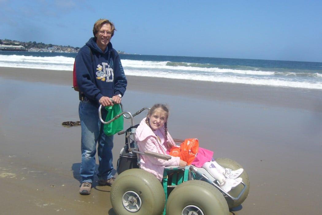Free Beach Wheelchairs Keep Summer Fun Rolling L A Parent