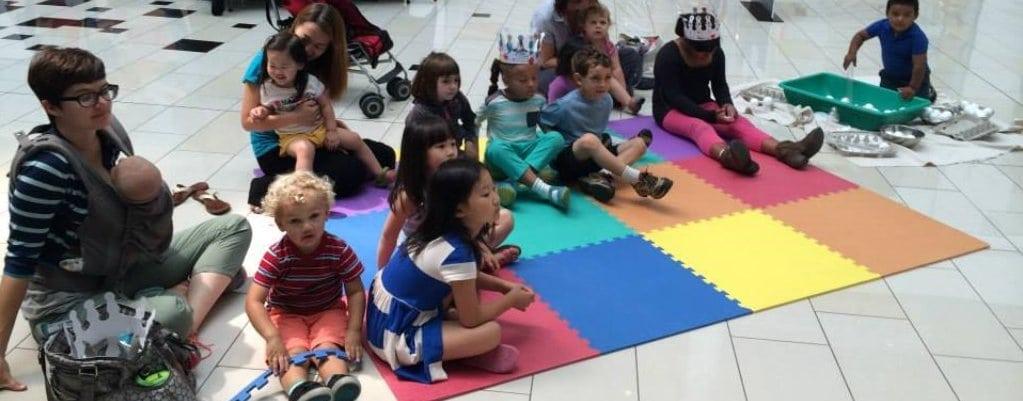 Glendale Galleria's New Kids' Club