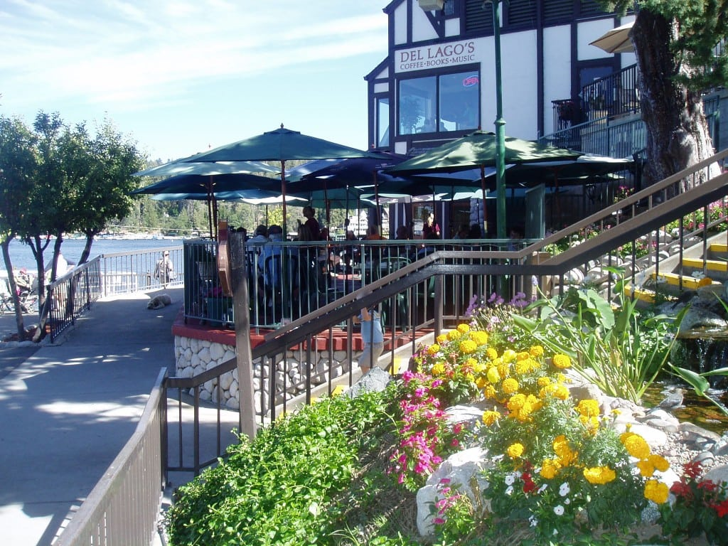 Enjoy lake views while dining at the casual Belgian Waffle Works family restaurant. PHOTOS COURTESY LAKE ARROWHEAD CHAMBER OF COMMERCE