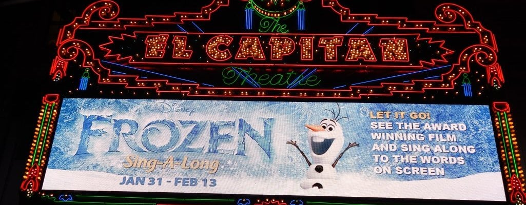 """Disney's """"Frozen"""" Sing-along"""