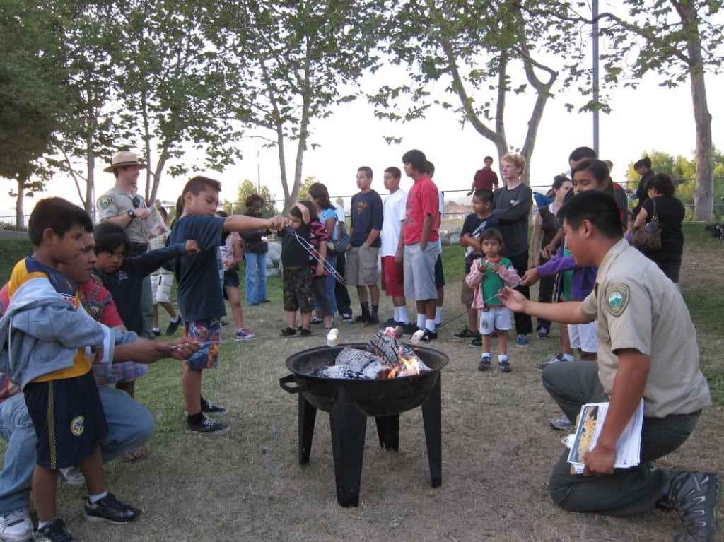 The Mountains Recreation and Conservation Authority invites families for marshmallow roasting at a variety of park locations this summer. PHOTO COURTESY MOUNTAINS RECREATION AND CONSERVATION AUTHORITY