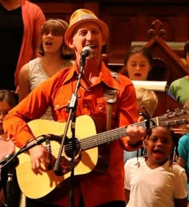Kids will be energized by Mister G's music. PHOTO BY KATHERINE JAMIESON