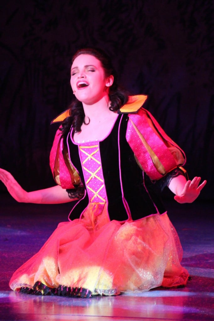 Snow White goes Katy Perry at the Kirk Douglas Theater. PHOTO COURTESY LYTHGOE FAMILY PRODUCTIONS