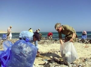 CMA's Monthly Beach Cleanup