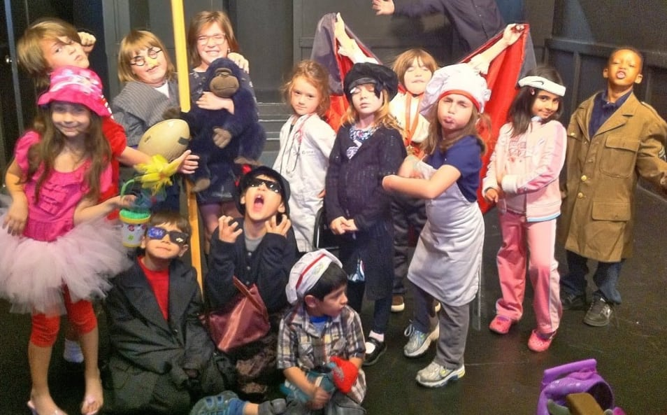 For kids and teachers at Joy Theatre, acting is a laughing matter. PHOTO COURTESY JOY THEATRE