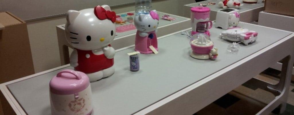 """Hello! Exploring the Supercute World of Hello Kitty"" Exhibit"