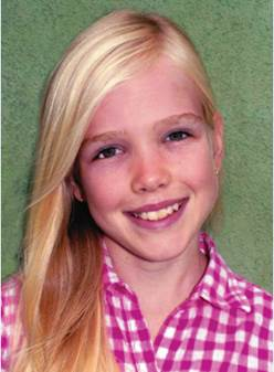 Lila Copeland, 12, received a Kohl's Cares scholarship for creating the Earth Peace Foundation.