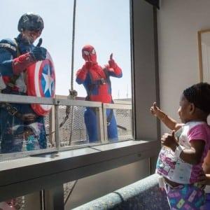 UCLA Mattel Children's HospitalSuper Hero Window Washers - 140813