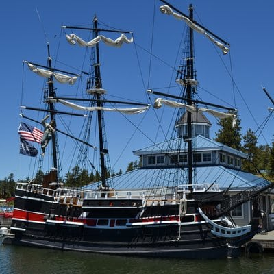 Pirate Ship Square