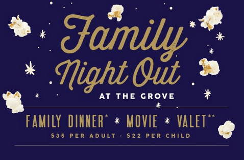 Family Night Out At The Grove