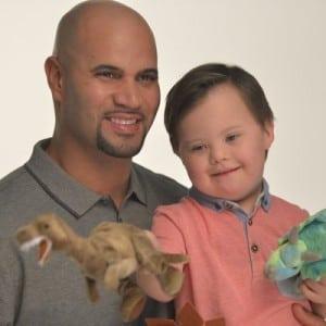 1-Albert Pujols-Special Needs child