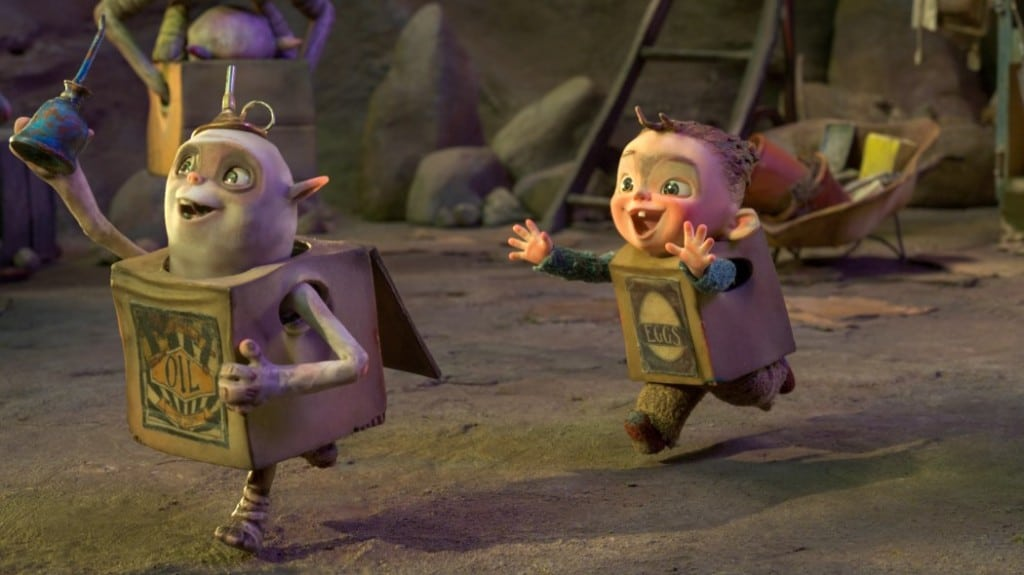 Max Mitchell did the voice of Baby Eggs in the new film Boxtrolls. PHOTO COURTESY LAIKA 2014