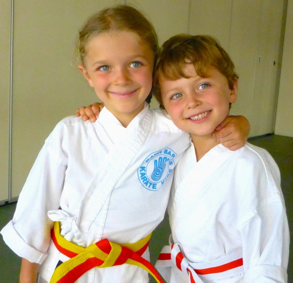 Dawn Barnes Karate Kids employs a unique martial arts teaching method designed especially for children. PHOTO COURTESY DAWN BARNES KARATE KIDS