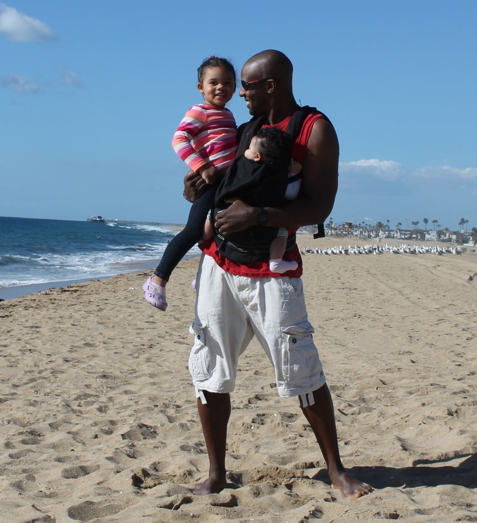 Doyin Richards started as a devoted father of two, and is now a dad activist. PHOTO COURTESY DOYIN RICHARDS