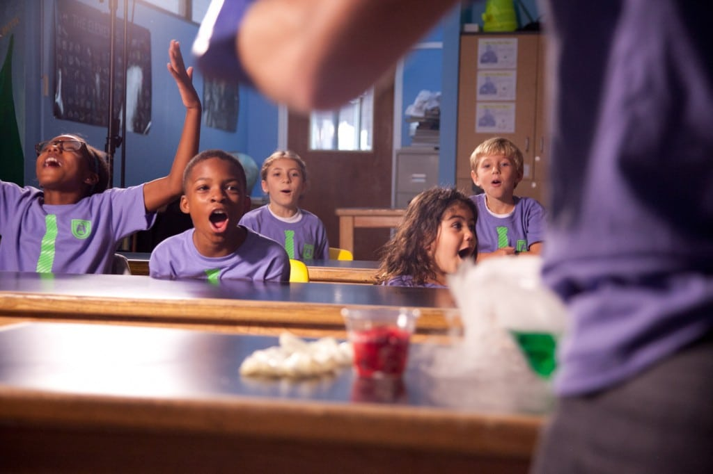 Science activities such as those offered at Professor Egghead Science Academy give kids an individual experience with a group atmosphere. PHOTO COURTESY PROFESSOR EGGHEAD SCIENCE ACADEMY