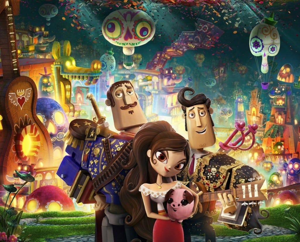The Book Of Life opens up the holiday movie season with a spirited tale. ARTWORK COURTESY TWENTIETH CENTURY FOX & REEL FX