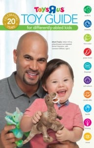 ToysRUs Toy Guide for Differently abled Kids 2014 Cover Albert Pujols