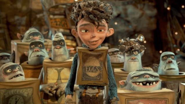 Eggs is a human boy adopted by the salvage-minded Boxtrolls. IMAGE COURTESY LAIKA STUDIOS