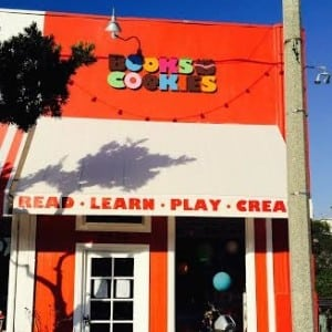 Books and Cookies SQUARE
