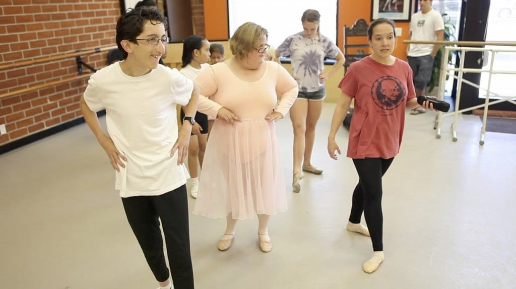 At Ballet For All Kids, dancers of all abilities – including those with physical and developmental challenges – step and twirl together. PHOTO COURTESY BALLET FOR ALL KIDS