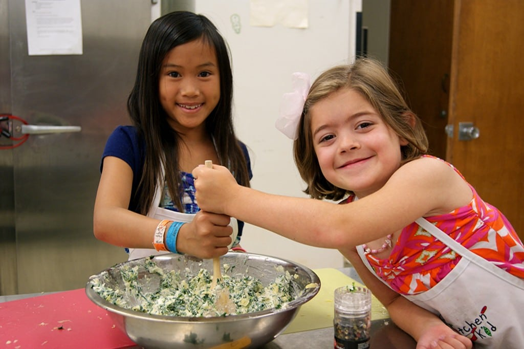 Kitchen Kid will host a Thanksgiving cooking workshop in November, and a Christmas and Hanukkah workshop in December. PHOTO COURTESY KITCHEN KID