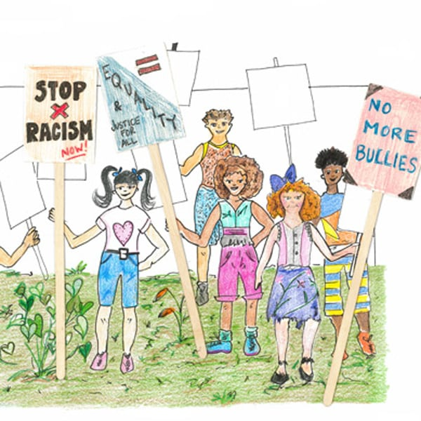 how to make a picket sign
