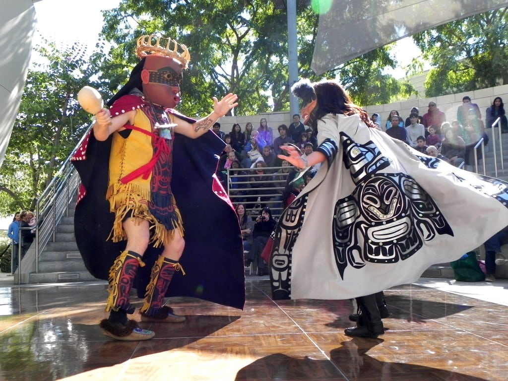The Git-Hoan Dancers share their native culture from the Pacific Northwest. PHOTO COURTESY THE MUSIC CENTER