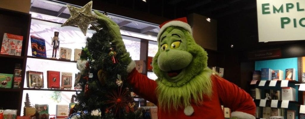 Special Holiday Story Time featuring The Grinch!