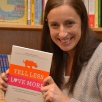 Author Sheila McCraith created The Orange Rhino after her handyman caught her yelling at her sons.