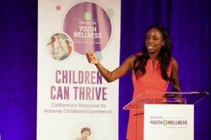 Dr. Nadine Burke Harris closes out the Children Can Thrive Summit for the Center For Youth Wellness.
