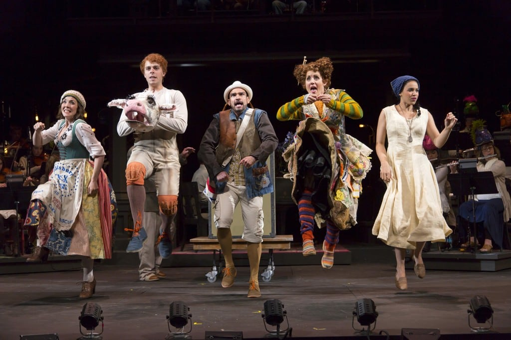 Into the Woods brings favorite children's fairytale characters to The Wallis in an acclaimed production by Oregon Shakespeare Festival. PHOTO COURTESY THE WALLIS