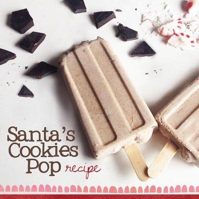 Santa's Cookie Pops Square