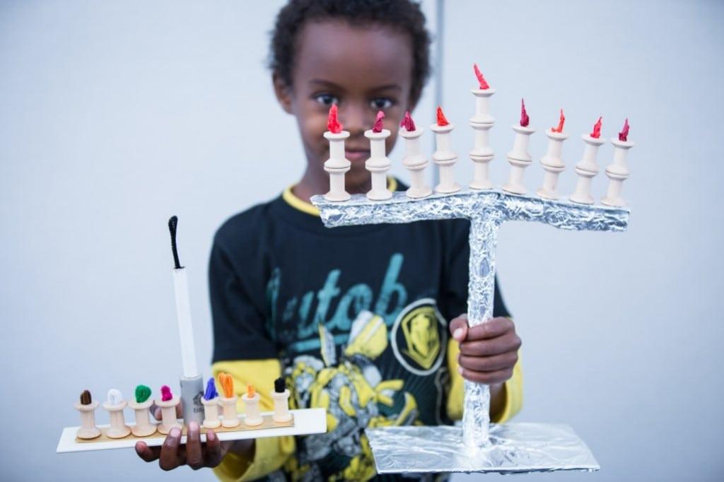Make Hanukkah memories at the Skirball Dec. 14. PHOTO BY BEBE JACOBS