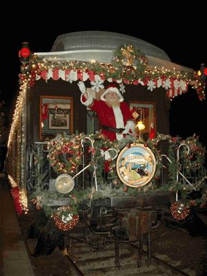Return Santa To North Pole Train