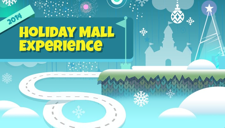Nintendo's Holiday Playground at Westfield Culver City Mall
