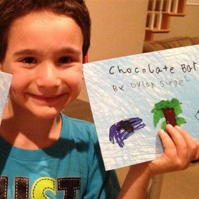 Chocolate Bar Book Children's Health