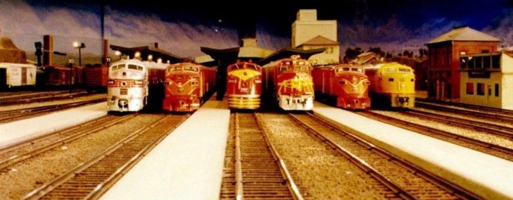 The Pasadena Model Railroad Club Open House