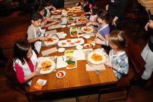 fun ideas for kids CPK pizza party