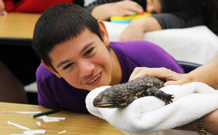 Special-Needs Zoo outreach