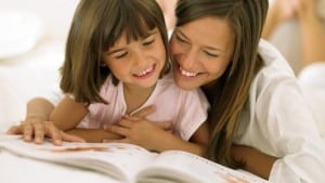 mother-daughter-reading parenting