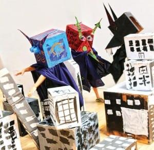 Armory Monster Destruction Class fun ideas for kids