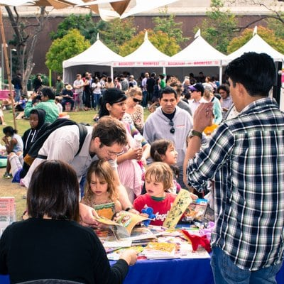 Los Angeles Things to Do Grand Park Bookfest