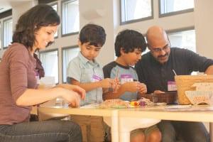 Skirball Family Art Studio fun ideas for kids