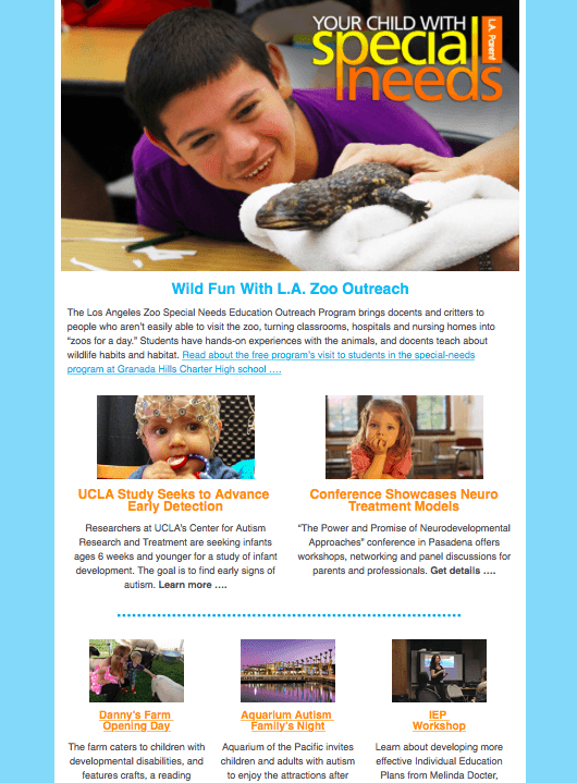 Special Needs Newsletter FEB 2015