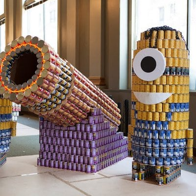 Canstruction Square