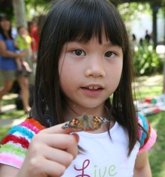 Kidspace's Grand Butterfly Release